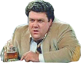 <b>Norm Peterson</b>; Cheers - norm